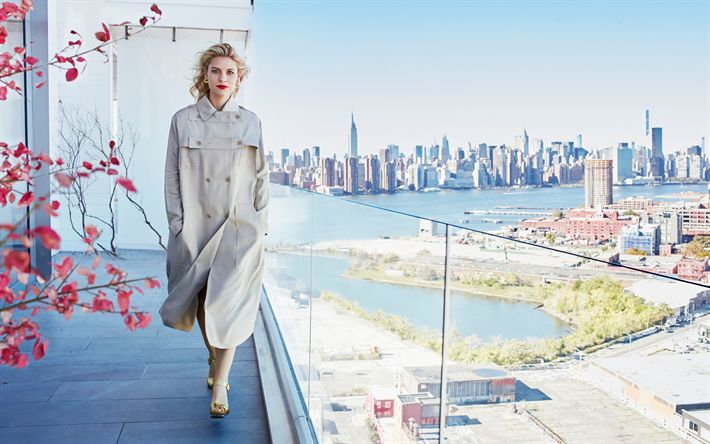 Download imagens Hollywood, Claire Danes, 4k, a atriz norte-americana, mulher bonita, beleza, loira