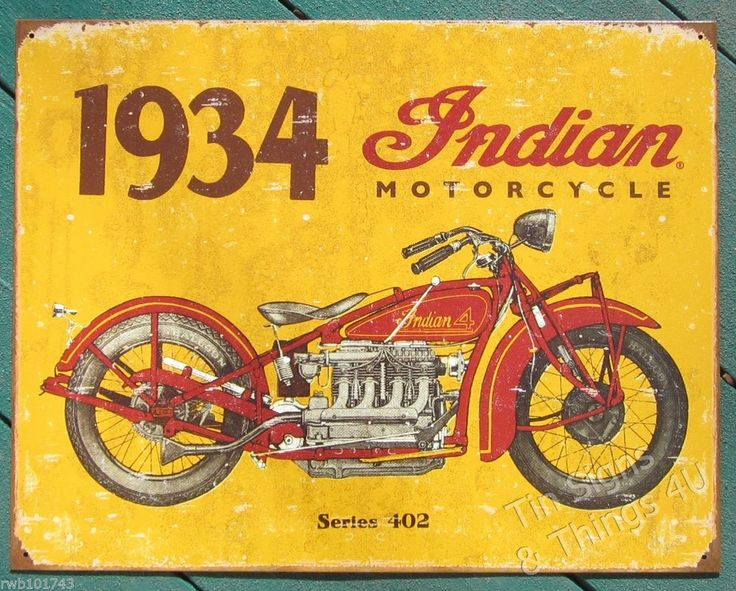 39 best Motorcycle themed TIN SIGN wall decor images on Pinterest ...