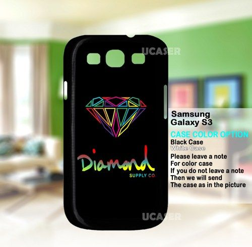 Diamond Supply Co Colorfull - For Samsung Galaxy S3 Case | uCaser - Accessories on ArtFire