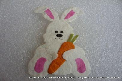 Easter bunny die cuts