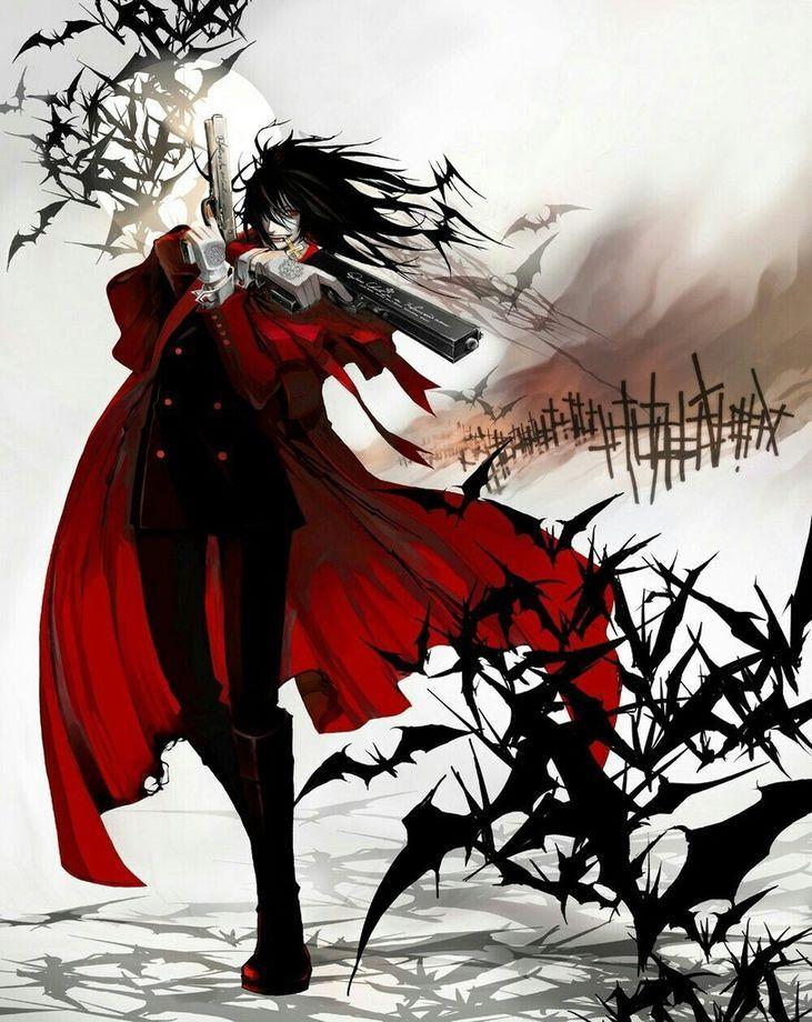 Имя: Алукард, Влад Цепеш, Господарь Валахии, Дракула Происхождение: Hellsing
