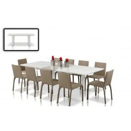 Glaze - Modern Extend-able Dining Table - 675.0000