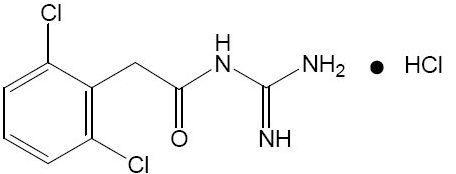 Intuniv structural formula