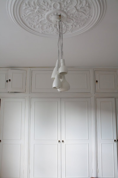 Beautiful ceiling rose for the bedroom. #ceilingrose