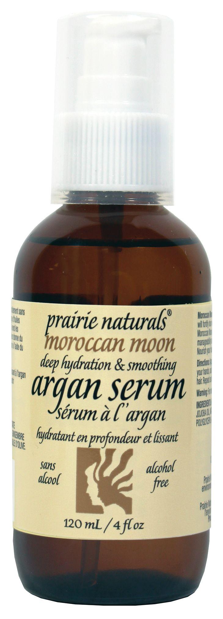 Prairie Naturals Moroccan Moon Argan Serum.
