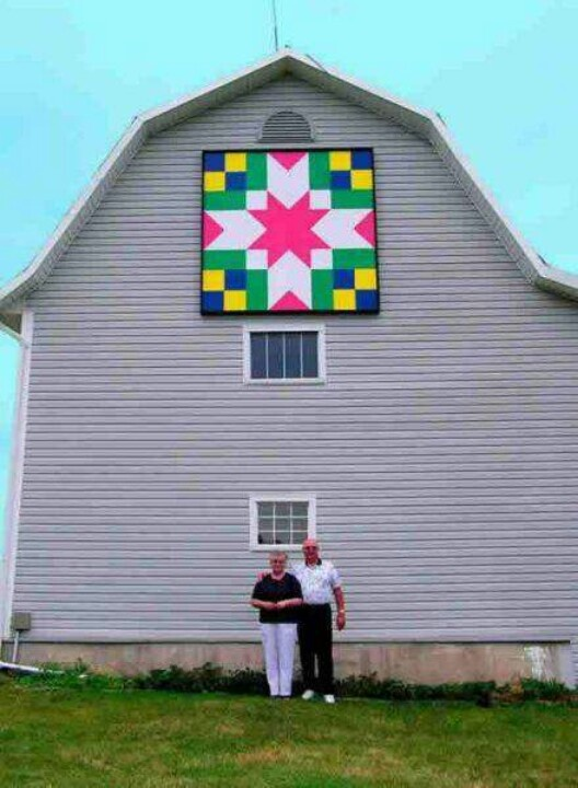 265 best Barn Quilts images on Pinterest | Barn quilt ...