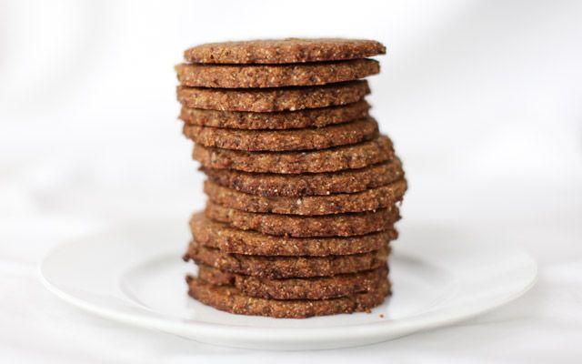 Paleo Graham Crackers #glutenfree #grainfree #paleo