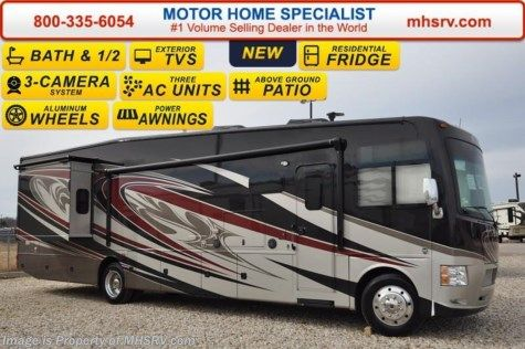 New 2016 Thor Motor Coach Outlaw Residence Edition 38RE Res Fridge, Bath & 1/2, 4 TVs, 26K Chassis For Sale by Motor Home Specialist available in Alvarado, Texas