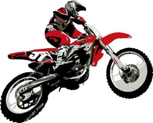 Motocross Sneek Bedroom Decor