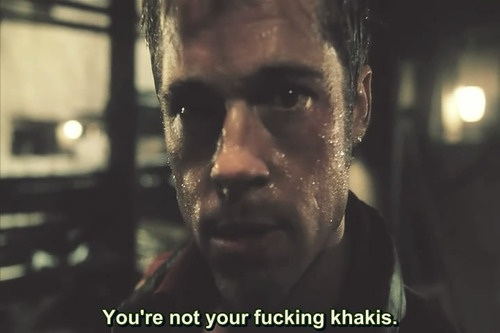 Fight Club Mentality