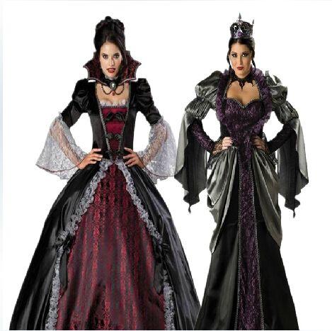 Goedkope masker vrouwelijke vampier cosplay jurken halloween uniformen gothic heks kostuums zombie koningin, koop Kwaliteit kleding rechtstreeks van Leveranciers van China: specificatie:Staat: 100% gloednieuwe!kleur: als foto' s.grootte: gratis groottemateriaal: katoen& polyeste pakket