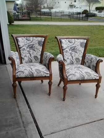 Accent Chairs $40 for both Craigslist