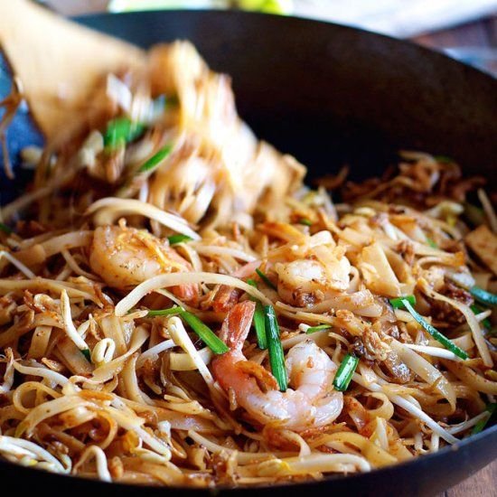 Pad Thai - choose from a real restaurant version from a top Thai restaurant or an every day version!