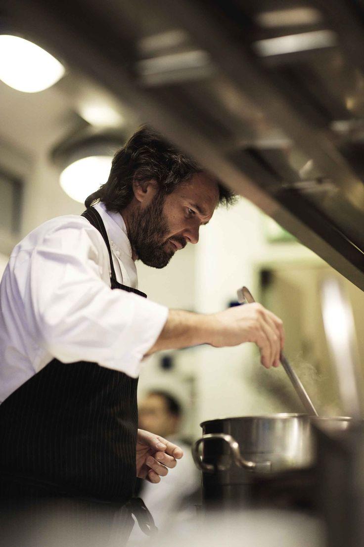 Carlo Cracco,como diría Picasso el cocina lo que piensa.