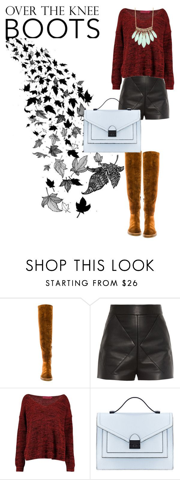 Rock on: Over the knee Boots by adriana-claudia on Polyvore featuring Balenciaga, Jeffrey Campbell, Loeffler Randall, Alexis Bittar and OverTheKneeBoots