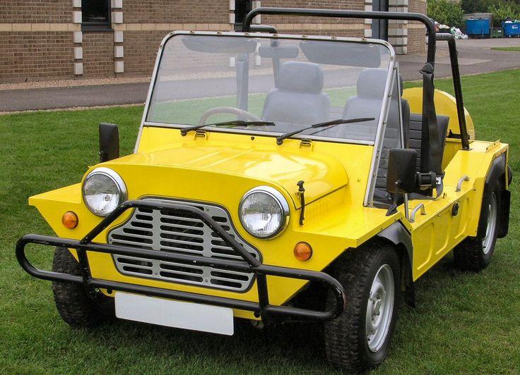 Mini-Moke - 1984 ( rééditée en version électrique )
