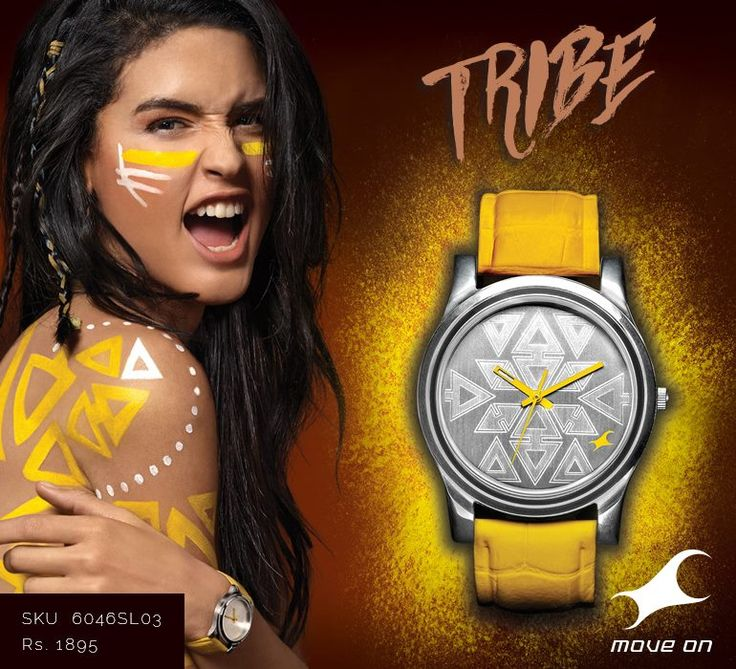 For those who embrace the wild spirit .Select your piece from the #Tribe collection http://fastrack.in/products/watches/sku-6046sl03/
