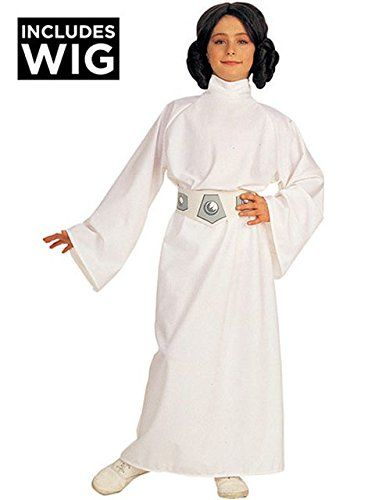 Star Wars Child's Deluxe Princess Leia Costume - http://morehalloween.com/product/star-wars-childs-deluxe-princess-leia-costume/
