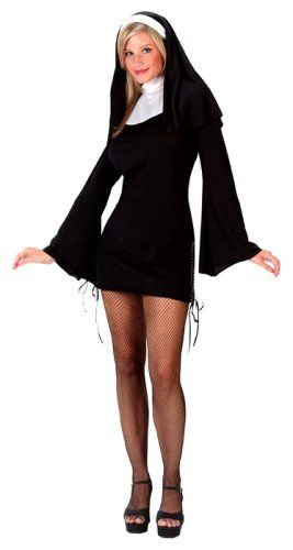 #Halloween - Fun World Costumes Women's Naughty Nun