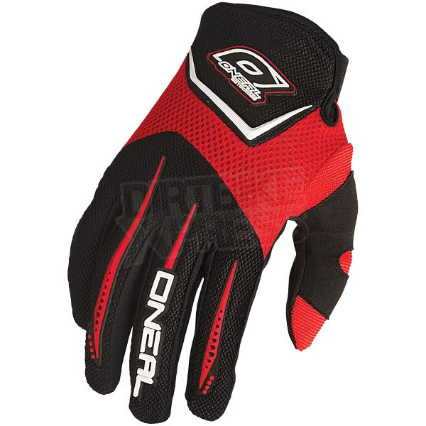 2015 ONeal Element Kids Motocross Gloves - Red Medium - 6