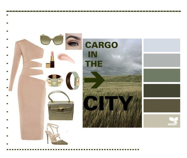 """""""Car-Go"""" by aliciak60 on Polyvore featuring Balmain, Valentino, Chloé, Givenchy, NARS Cosmetics and Tom Ford"""