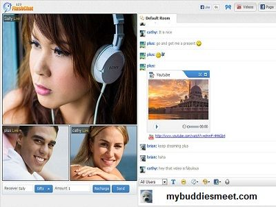 MyBuddiesMeet provide #video_chat services with which you can chat your friends online. For more details. http://www.mybuddiesmeet.com