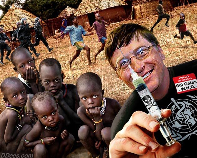 "In a recent interview with the London Telegraph, Bill Gates has now claimed that his Foundation's massive push for vaccination is not just an exercise in philanthropy but that it is, in fact, ""God's work.""    Gates, who, according to the Telegraph, is worth an estimated $65 billion, is now dedicating his life to the ""eradication of poliomyelitis,"" or, at least he is dedicating himself to the vaccination program allegedly aimed at achieving these ends."