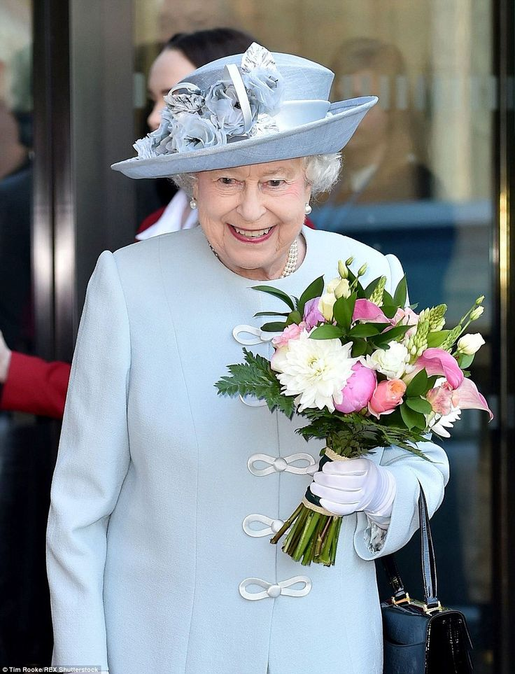 Fit as a fiddle: The Queen looked on top form throughout the event