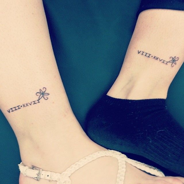 Amazing matching tattoos for twins tattoo cosplay for Twin tattoos for mom
