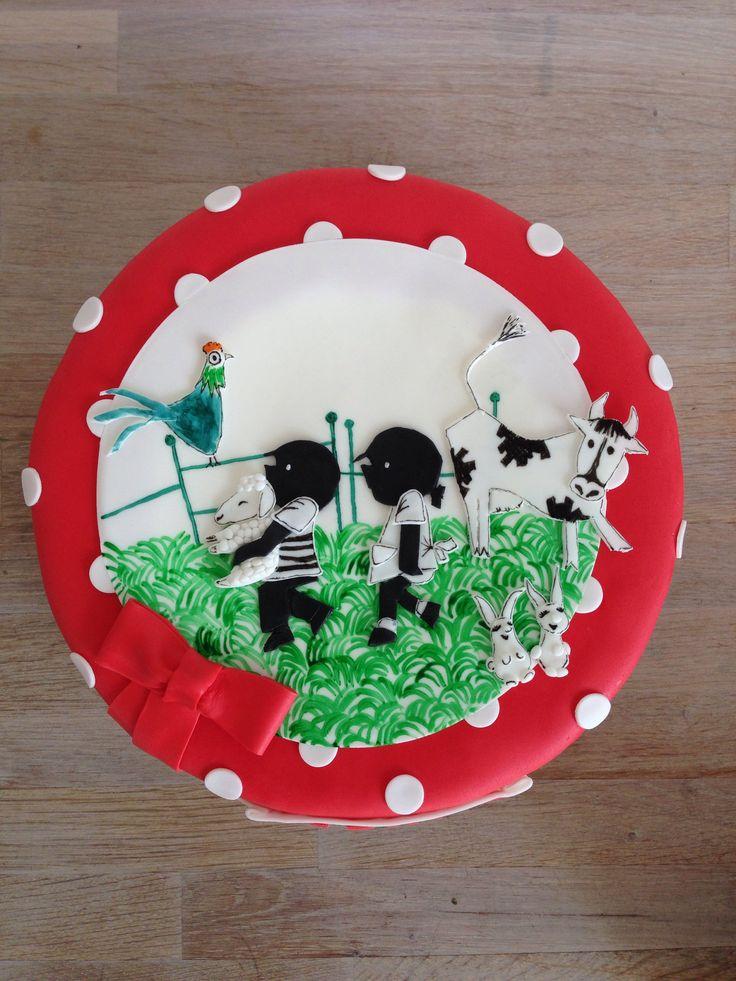 Jip & Janneke cake by Studio Roos