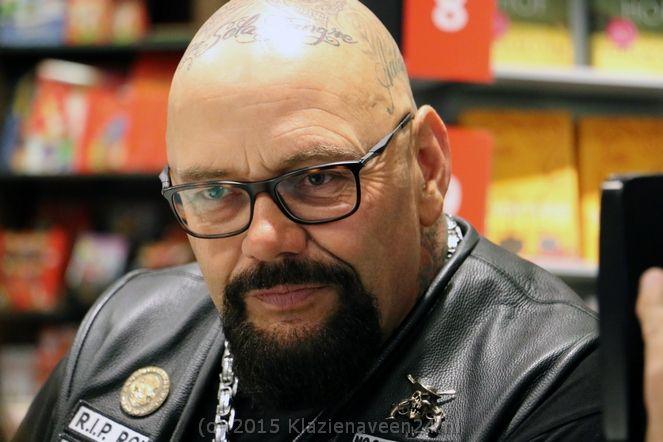 Voorman van motorclub No Surrender Henk Kuipers, zint op een carrière in de politiek.
