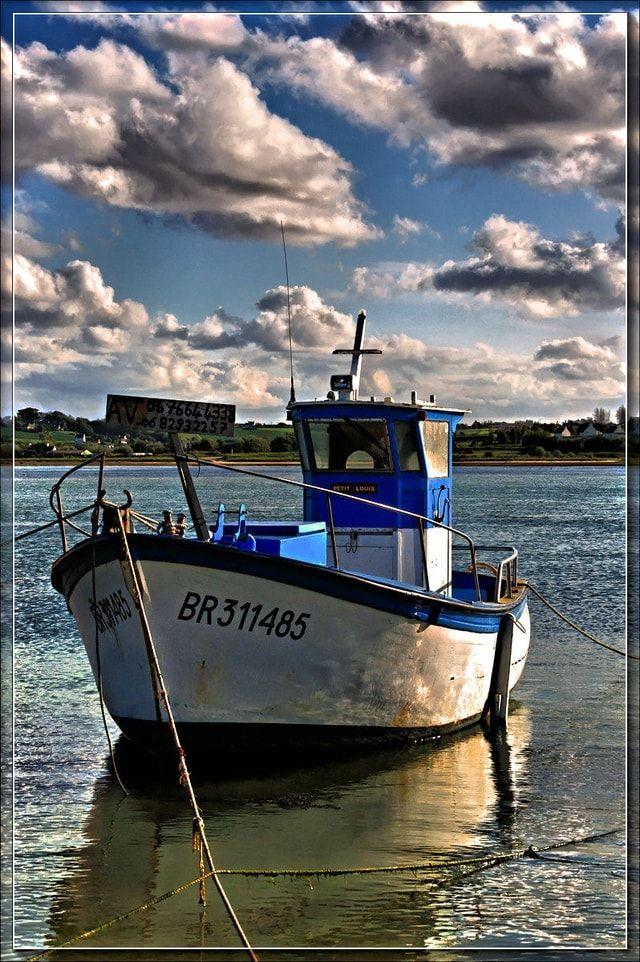 Les 82 meilleures images du tableau bateaux de peche sur pinterest bateaux aquarelles et art - Dessin petit bateau ...