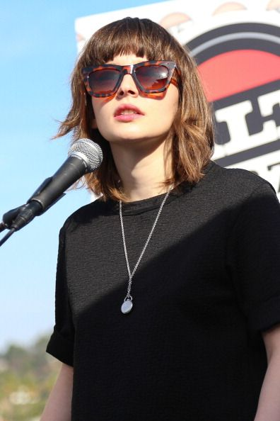 Lauren Mayberry - CHVRCHES @ 98.7 FM's Penthouse Party Pad, 2013