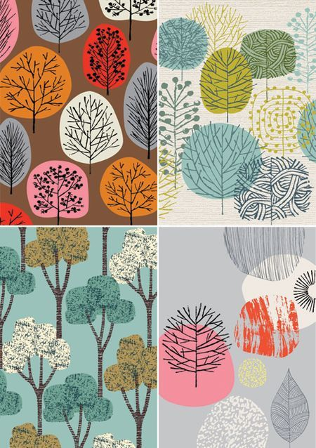Eloise Renouf-- really just prints, not fabric, but wouldn't they be PERFECT FOR EVERYTHING?