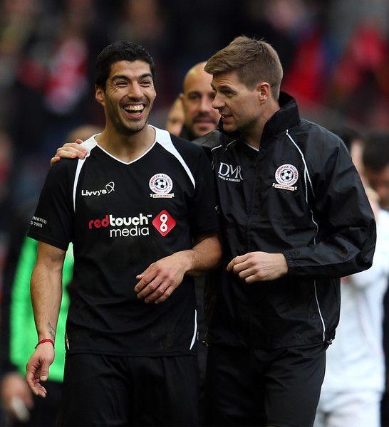 Luis Suarez And Steven Gerrard Reunited: 341 Best Ideas About Steven Gerrard On Pinterest