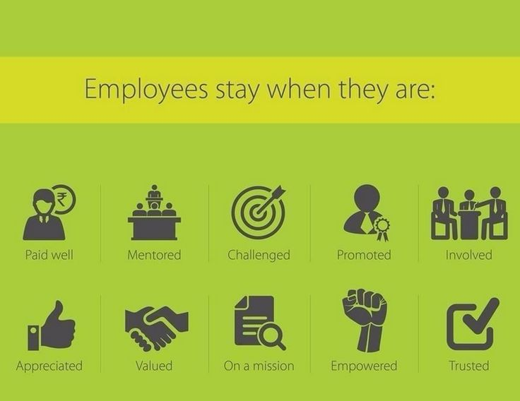 What makes employees want to stay?
