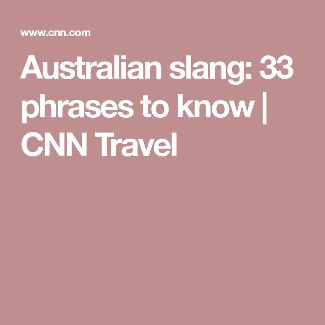 Australian slang: 33 phrases to know | CNN Travel