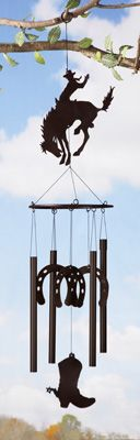 Horse & Cowboy Western Garden Windchime  In Our Catalog:  Horse Windchime  Availability: In Stock  Item #95443  $14.99