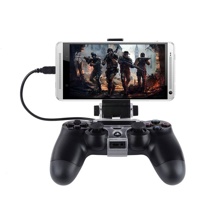 Android Phone Clip For The PS4 Controller