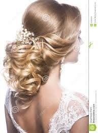 Image result for a bride back on and hairstyle