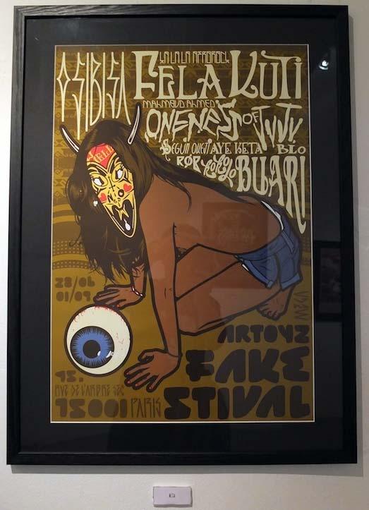 Artoyz Fakestival – Artwork inspired by Afrobeat music