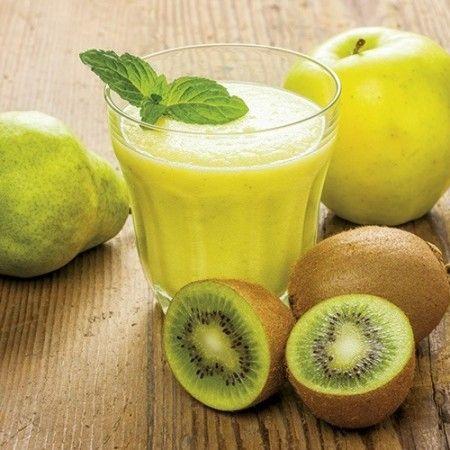 Succo di kiwi, pera e mela