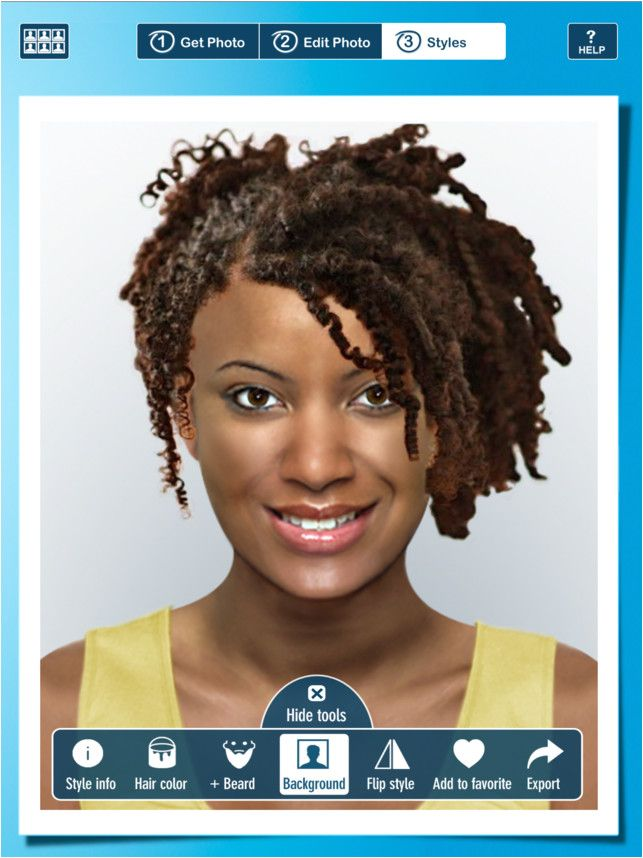 Hairstyle app for PC