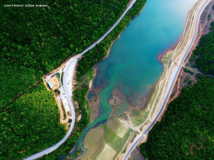 Prishtina Water Supply — at Liqeni i Badovcit.