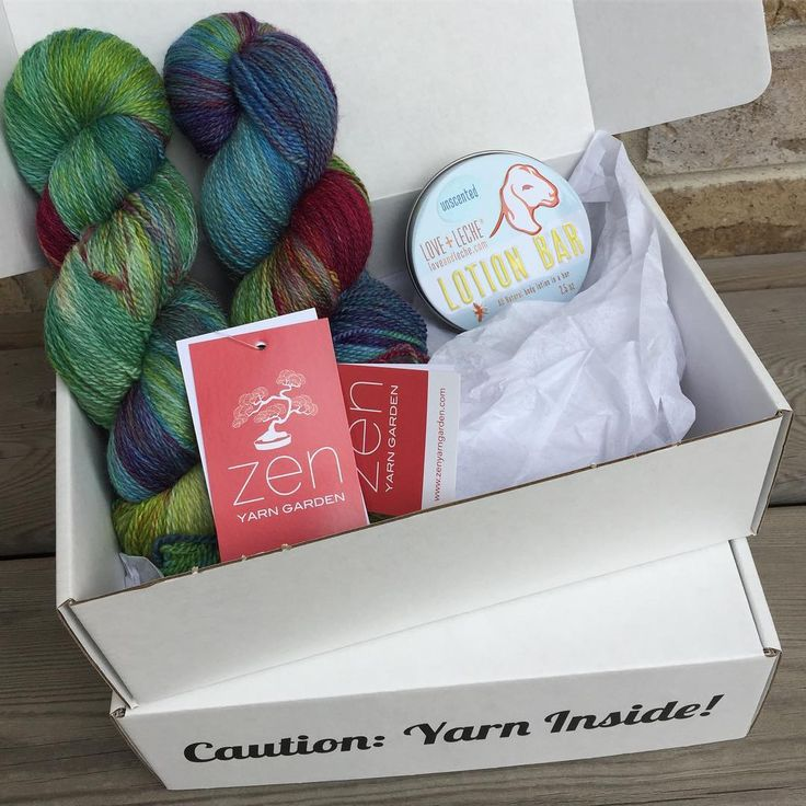 "- ZenYarnGarden.com (@zenyarngarden) on Instagram: ""Our last @zenknitbox was a hit! Featured in this box was our Serenity Silk + yarn (cashmere & silk…"""
