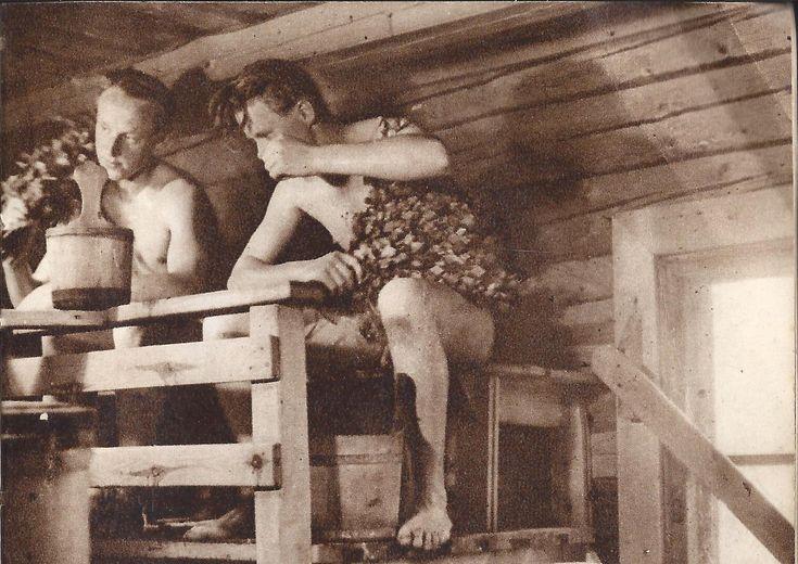 old sauna pic boys