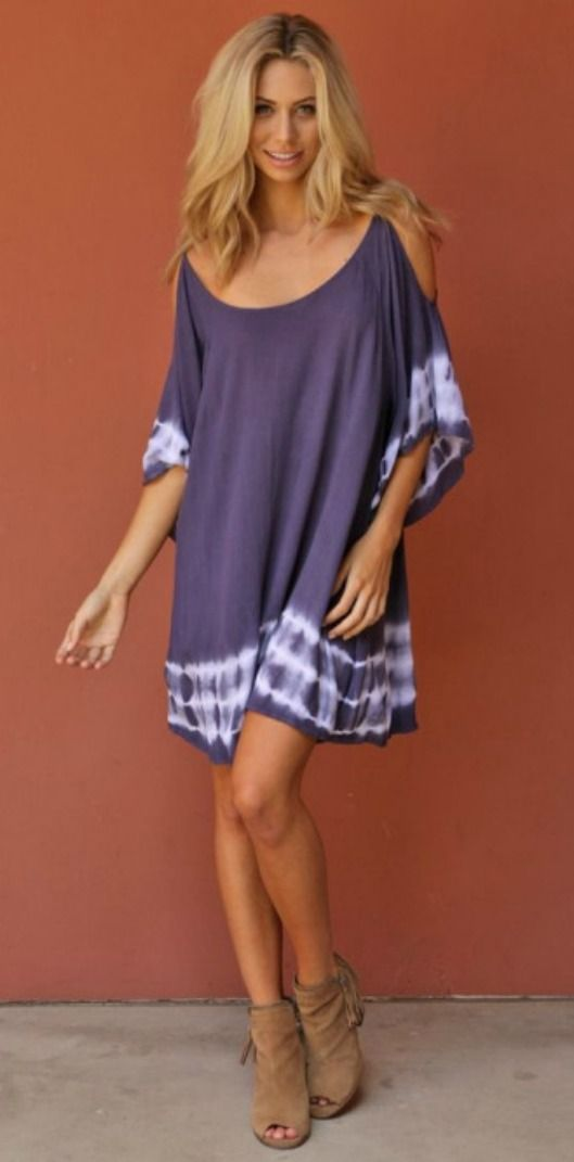 Gauzy Boho Tunic Dress. Perfect for summer!