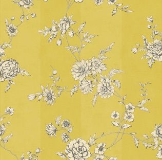 Chantilly is a delicately designged wallpaper in an amazing yellow hue. Available at www.wallcandywallpaper.com.au for $149 per roll.