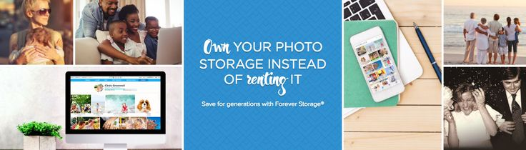 Online Photo Storage   Your Lifetime +100 Yrs   FOREVER™