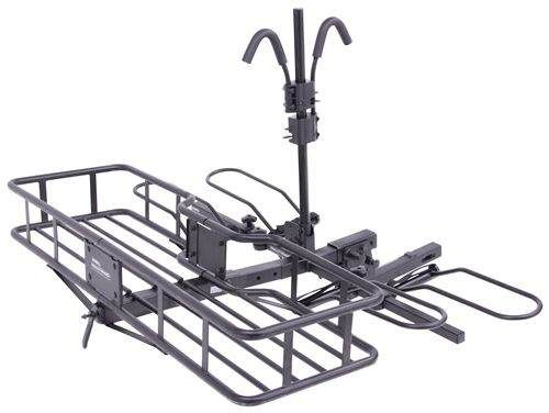 "Hollywood Racks Sport Rider SE2 Platform 2 Bike Rack w/Cargo Carrier - Fat Bikes - 2"" Hitches Hollywood Racks Hitch Bike Racks HR1450-85-FB"